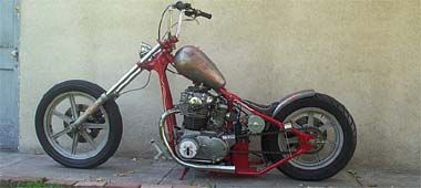 650 Chopper #7 Has potential, better put a seat on it or nuts will be jello.