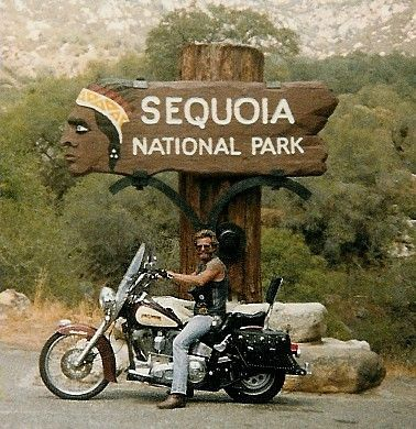 At Sequoia National Park From My 1988 California Trip