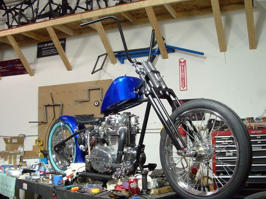 Click to view full size image  ==============  Very Close Final Build in progress by ArdCore Choppers, Indianapolis