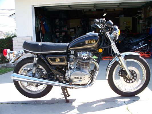 Click to view full size image  ==============  1978 XS650E My unmolested original with less than 300 miles as of April 08.